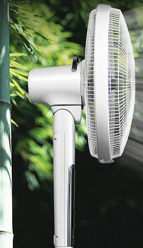 艾美特电风扇落地扇家用静音遥控台式静音风扇FS40104R
